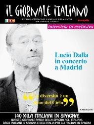 Lucio Dalla in concerto a Madrid - Il Giornale Italiano