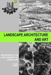 proceedings pdf - LLU Fundamentālā bibliotēka