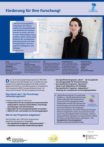 Förderung für Ihre Forschung! - Prof. Dr. Leticia González - Friedrich ...