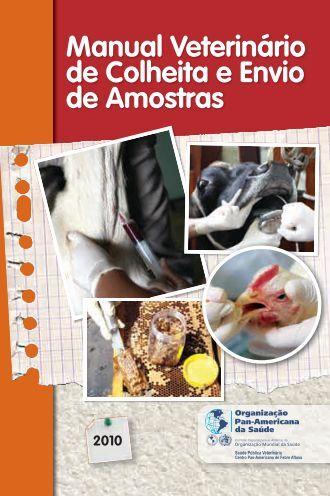 Manual Veterinário de Colheita e Envio de Amostras