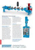 Chemical Industry: Applications for Egger Pumps in chemical plants - Page 4