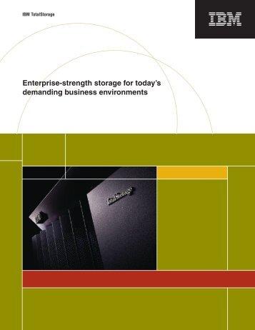 IBM ESS Product Brochure (.pdf)