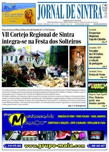 FESTAS EM HONRA DE NOSSA SENHORA DO - Jornal de Sintra