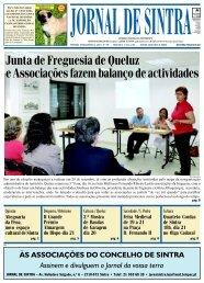 Junta de Freguesia de Queluz e Associações ... - Jornal de Sintra