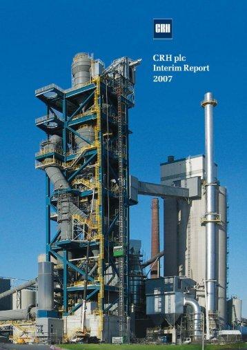 CRH plc 2006 RESULTS