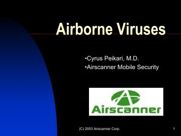 Airborne Viruses - Cvt-dallas.org
