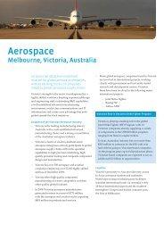 Aerospace - Invest Victoria