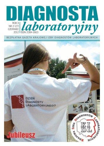 Jubileusz - Krajowa Izba Diagnostów Laboratoryjnych