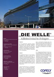 """""""DIE WELLE"""" - COFELY Gebäudetechnik GmbH"""