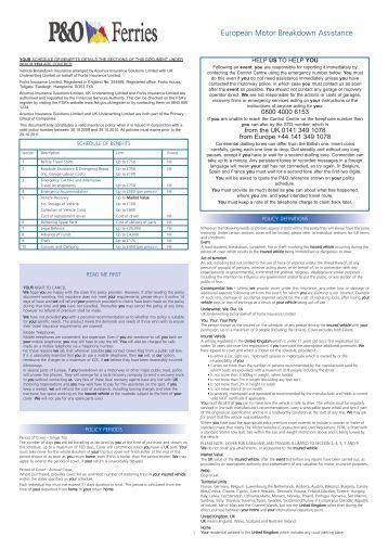 Final Group Health Policy Wordings Genins India Tpa Ltd