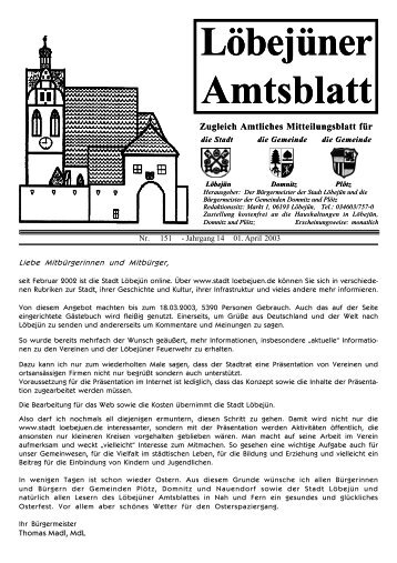 04 Amtsblatt April - Löbejün