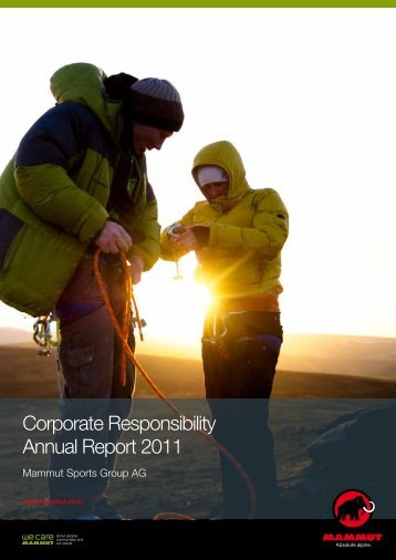 Corporate Responsibility Annual Report 2011