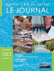 Journal de Saclay n°25 - CEA Saclay