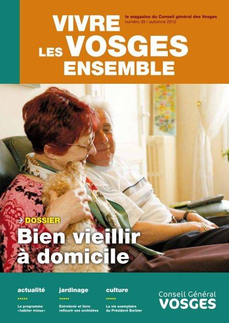 Bien vieillir à domicile - Vosges