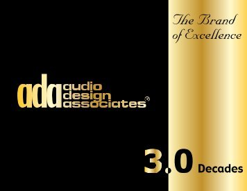 ADA Brochure - Audio Design Associates