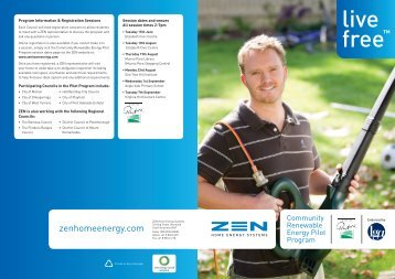 Community Renewable Energy Pilot - City of Playford