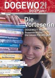 DOGEWO21-Mietermagazin 1|2007
