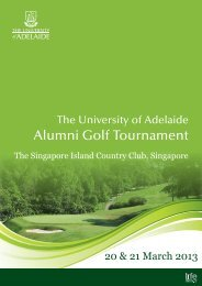 Download Brochure - University of Adelaide