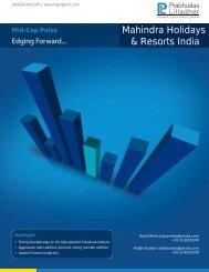 Mahindra Holidays & Resorts India - The Smart Investor