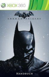 Handbuch - Batman: Arkham Origins