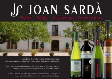 Joan Sardà dóna la benvinguda a tothom que ... - Viajeros del Vino
