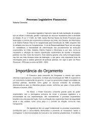 Processo Legislativo Financeiro - Assembleia Legislativa do Estado ...