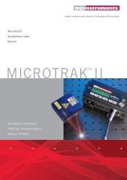 MICROTRAK™ II - MTI Instruments Inc.
