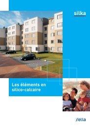 Les éléments Silka en silico-calcaire - Xella
