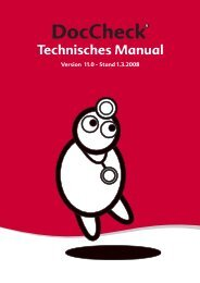 Technisches Manual