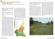Nouvelles observations sur la distribution des tortues du Cameroun ...