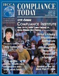 compliance - Health Care Compliance Association