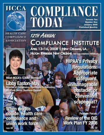 compliance - Health Care Compliance Association