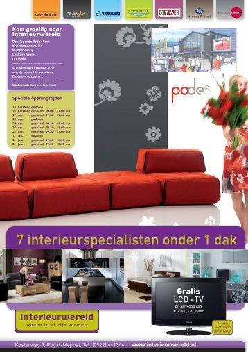 7 interieurspecialisten onder 1 dak - InterieurWereld