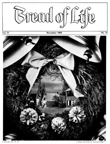 PDF for viewing - Bread of Life - Archives of the Ridgewood ...