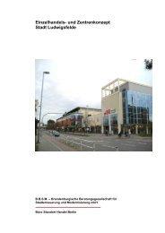 Einzelhandels- und Zentrenkonzept Stadt Ludwigsfelde