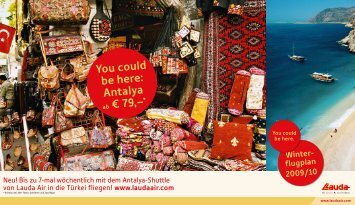 You could be here: Antalya ab € 79,–