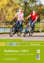 Katalog Radfahren im Münsterland 2015