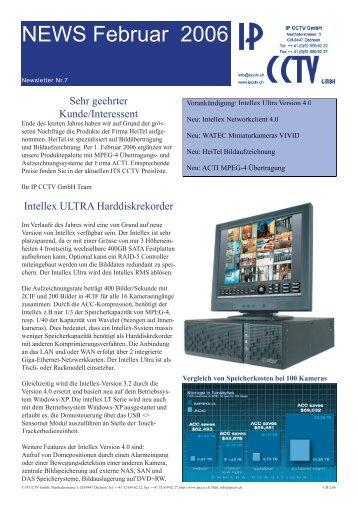 Newsletter - IP CCTV GmbH