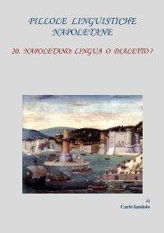 WEB- LIngua o dialetto napoletano - Vesuvioweb