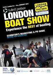 experience the best of boat - London Boat Show