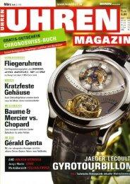 Uhren Magazin - Haldimann Horology
