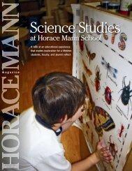Science Studies - Horace Mann School