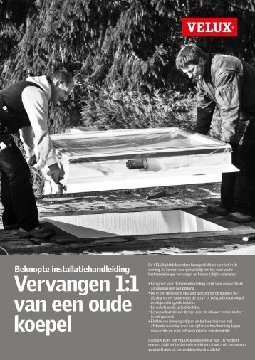 Installatie blad (PDF) - Velux