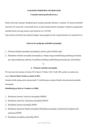 Nasledne periferne neuropatije.pdf - Beli Mantil