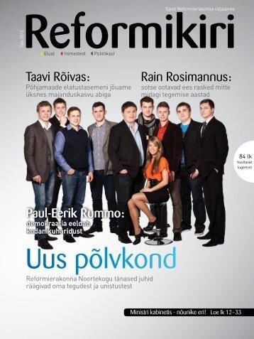 Reformikiri talv 2012(pdf, 4.9 MiB) - Reformierakond