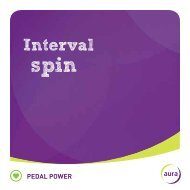 Interval Spin - Aura Leisure Centres