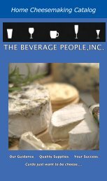 2012 Cheese Catalog - The Beverage People