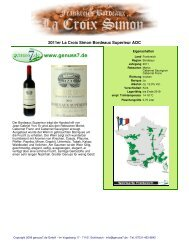 2011er La Croix Simon Bordeaux Superieur AOC - Genuss7.de