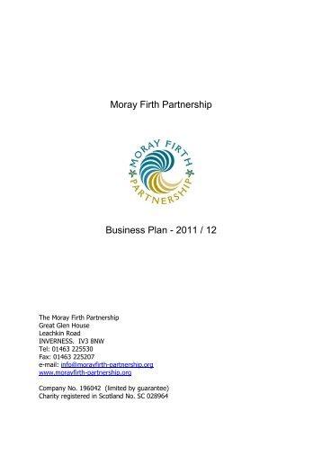 Moray Firth Partnership Business Plan - 2011 / 12