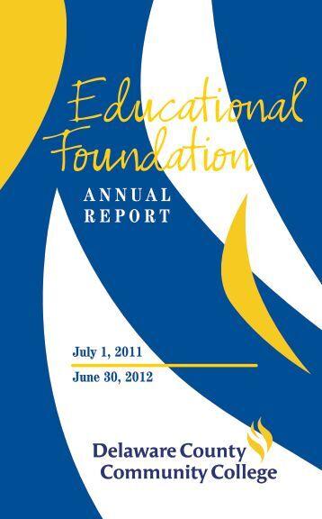 DCCC Annual Report 2004 - Delaware County Community College